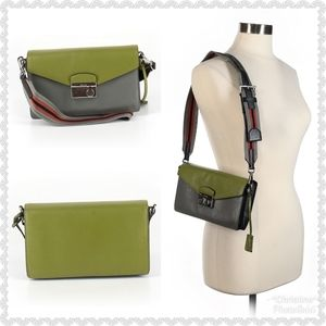 *Prada Colorblock Leather Crossbody*